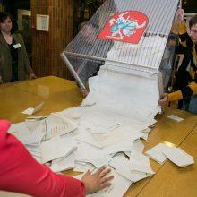 Konservatoriai siūlo Seimo rinkimų sistemos nekeisti
