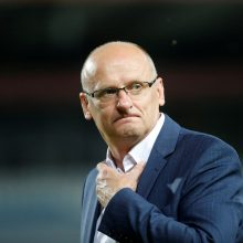 Optimistas: treneris V.Urbonas tvirtino, kad jo vadovaujama komanda turi potencialo žaisti sėkmingiau.