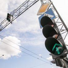 Dėmesio: Geležinio Vilko ir Ukmergės gatvių sankryžoje bus pokyčių