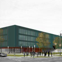 Paaiškėjo, kaip atrodys nauja sostinės Pilaitės mokykla