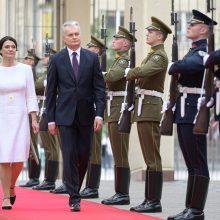 G. Nausėdos pirmasis oficialus vizitas – pas kaimynus į Lenkiją