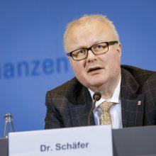 """Vokietijos žemės finansų ministras nusižudė dėl """"viruso krizės nerimo"""""""