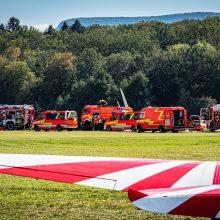 """Karaliaučiaus srityje sudužo """"Cessna"""", trys žmonės išgabenti į ligoninę"""