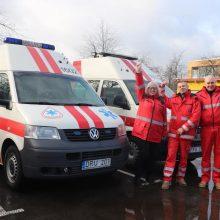 Pakaunėje ligonius veš automobiliais, kokių Lietuvoje dar niekas neturi