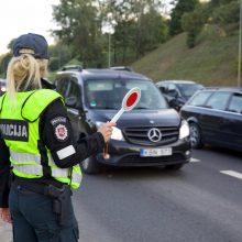 Vilniaus gatvėse – netikėtas policijos reidas: gaudė gudraujančius