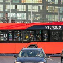 Atnaujinta tvarka viešajame transporte: leidžiama užimti ir stovimas vietas