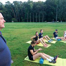 Pasak vyriausiojo trenerio A.Paulausko, jaunoms žaidėjoms sudarytos sąlygos konkuruoti dėl vietos pagrindinėje komandos sudėtyje.