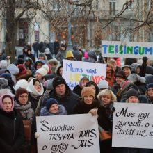 Valdžia neranda daugiau pinigų mokytojams – vėl ruošiamasi streikui