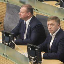"""Atsitraukus S. Skverneliui, R. Karbauskis gali pats vesti """"valstiečius"""" rinkimuose"""