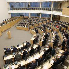 Derybininkai susitarė dėl koalicijos projekto