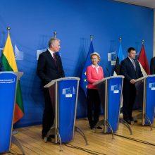 G. Nausėda: Europos lyderiai smerkia pasikėsinimą nužudyti A. Navalną