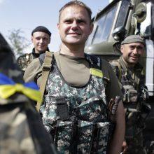 Rytų Ukrainoje žuvo vienas ukrainiečių karys, dar vienas sužeistas