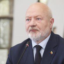E. Gentvilas: jei partijos nebėra, negali jos atstovas būti VRK  nariu