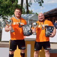 Europos galiūnų taurės varžybose – lietuvių triumfas