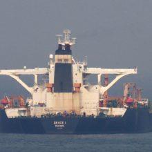JAV išdavė orderį Gribraltare sulaikytam Irano tanklaiviui areštuoti