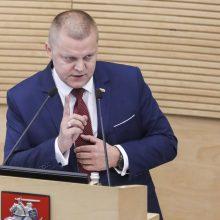NSGK pirmininkas: kraštutinių pažiūrų asmenys Lietuvoje didelių grėsmių nekelia