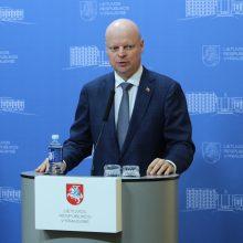 Premjeras: maisto Lietuvoje užteks, bet tiekėjai neturi didinti kainų