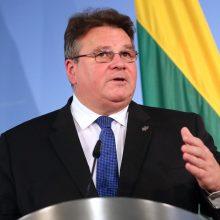 L. Linkevičius dalyvaus ES Užsienio reikalų taryboje