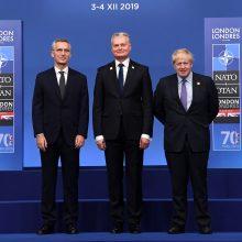 G. Nausėda: grėsmė yra ne tik terorizmas, bet ir Rusija bei Kinija