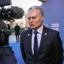 G. Nausėda: turime laikytis nacionalinio susitarimo dėl gynybos