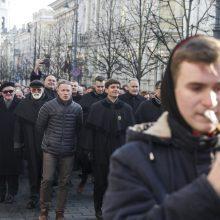 Vilniuje – šventinė advokatų eisena: sutarimą su ministru rado
