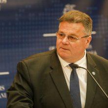 L. Linkevičius: negalime ignoruoti žmogaus teisių pažeidimų Baltarusijoje
