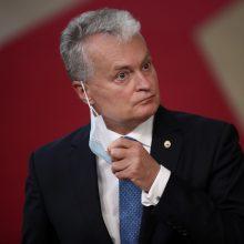 G. Nausėda kviečia Europos lyderius vieningai kovoti su istoriniu revizionizmu