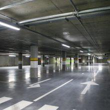 Svarbi žinia kauniečiams: atnaujinta automobilių aikštelė po Vienybės aikšte