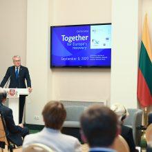 Prezidentūroje – Vokietijos pirmininkavimui ES Tarybai skirta konferencija