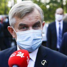 Seimo pirmininkas jaučiasi gerai – jau išleistas iš ligoninės