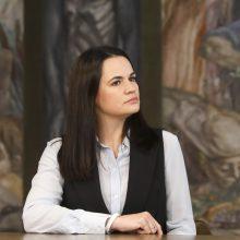 S. Cichanouskaja: būtina, kad Rusija dalyvautų derybose su A. Lukašenka