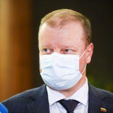 S. Skvernelis pritaria V. Sinkevičiaus kritikai dėl T. Tomilino pašalinimo