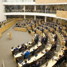 Seime – emocijos dėl KT teisėjų: minėjo korupcines bylas ir spaudimą parlamentarams