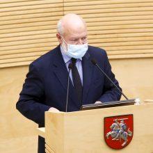 E. Gentvilas: apklausos dėl Seimo narių atšaukimo kiršina visuomenę