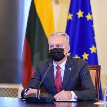 G. Nausėda su ES šalių lyderiais aptars veiksmus valdant COVID-19 krizę