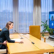 V. Čmilytė-Nielsen: šis Seimas taps moraliniu pavyzdžiu