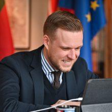 G. Landsbergis: Lietuva siekia, kad greitai pradėtų veikti ES dalijimosi vakcina mechanizmas