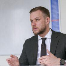 G. Landsbergis nustebintas, kad prezidentas persigalvojo dėl R. Karoblio kandidatūros tinkamumo