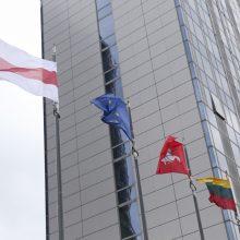 Solidarumas: Vilniaus savivaldybė iškėlė istorinę Baltarusijos vėliavą