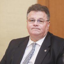 L. Linkevičius: NATO orlaiviu bus atgabenta medicinos priemonių siunta