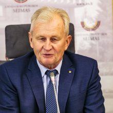 K. Glaveckas: Seimas negali būti prokuratūra
