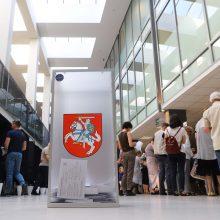 Siūloma žemesnę kartelę taikyti tik 2024 m. Seimo rinkimams