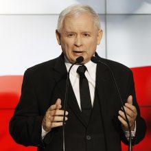 J. Kaczynskis paprašė Lietuvos neskirti jam apdovanojimo?