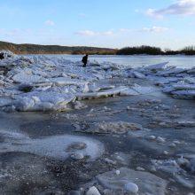 Tarnybos potvyniui pasirengusios: Neryje laužomi ledai, pasiruošta evakuacijai