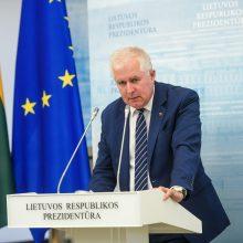 A. Anušauskas: migrantų krizę šalyje spręsti padeda šimtai karių