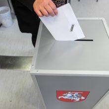Radviliškio mero rinkėjai balsuoja namie, įsigaliojo agitacijos draudimas