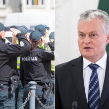 Policiją Angelų sargų dienos proga sveikina prezidentas: norisi didžiuotis!