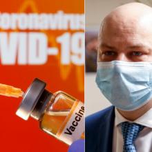 A. Veryga: Lietuva gavo trečiąją sutartį dėl COVID-19 vakcinos
