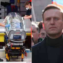 ES ragina Rusiją padėti tiriant A. Navalno apnuodijimą, grasina sankcijomis