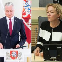 G. Nausėda: dėl S. Rudėnaitės atleidimo KT išsklaidė abejones